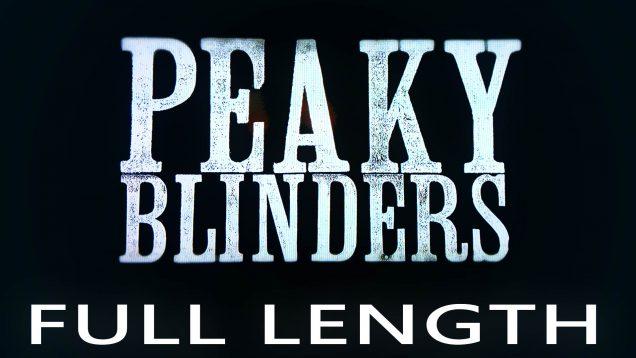 Peaky Blinders Full Length Icon