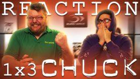 Chuck 1×3 Reaction