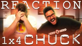 Chuck 1×4 Reaction