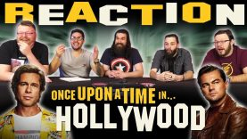 Once Upon A Time In Hollywood Official Teaser Trailer Reaction