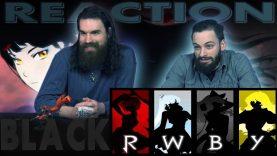 RWBY Black Trailer Reaction Rick and Calvin
