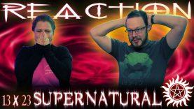 Supernatural 13×23 Reaction
