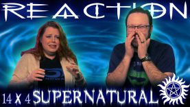 Supernatural 14×4 Reaction