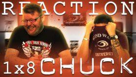Chuck 1×8 Reaction