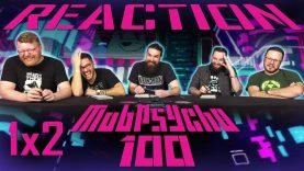 Mob Psycho 100 1×2 Reaction