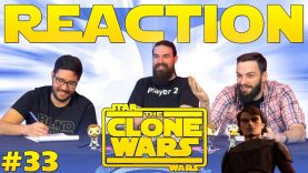 Star Wars: The Clone Wars #33 Reaction
