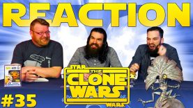 Star Wars: The Clone Wars #35 Reaction