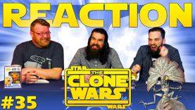 Star Wars: The Clone Wars #35 Reaction