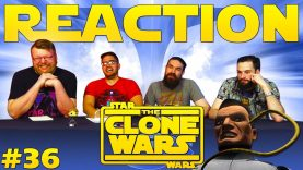 Star Wars: The Clone Wars #36 Reaction