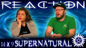 Supernatural 14×9 Reaction