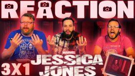 Jessica Jones 3×1 Reaction