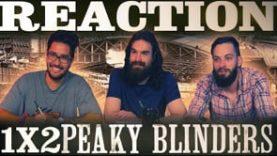 """Peaky Blinders 1×2 REACTION!! """"Episode 2"""""""