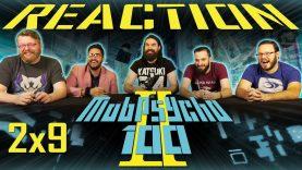 Mob Psycho 100 2×9 Reaction