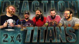 Titans 2×4 Reaction