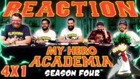 My Hero Academia 4×1 Reaction