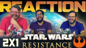 Star Wars Resistance 2×1 Reaction