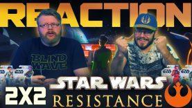 Star Wars Resistance 2×2 Reaction