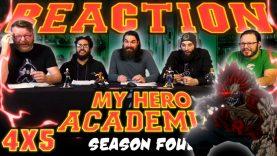 My Hero Academia 4×5 Reaction