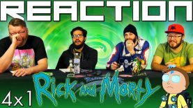 Rick and Morty 4×1 Reaction