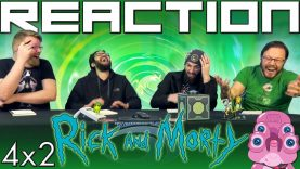 Rick and Morty 4×2 Reaction