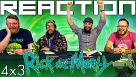 Rick and Morty 4×3 Reaction