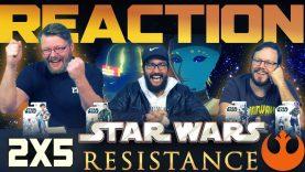 Star Wars Resistance 2×5 Reaction
