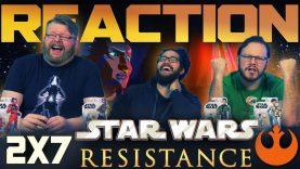 Star Wars Resistance 2×7 Reaction