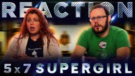 Supergirl 5×7 Reaction