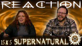 Supernatural 15×5 Reaction