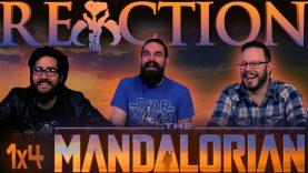 The Mandalorian 1×4 REACTION!!