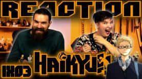 Haikyuu 1×3 Reaction EARLY ACCESS