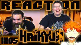 Haikyuu 1×5 Reaction EARLY ACCESS