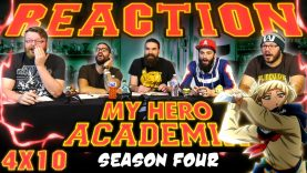 My Hero Academia 4×10 Reaction