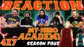 My Hero Academia 4×7 Reaction