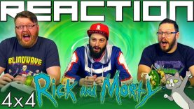 Rick and Morty 4×4 Reaction