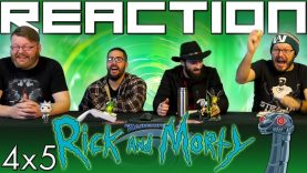 Rick and Morty 4×5 Reaction