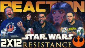Star Wars Resistance 2×12 Reaction