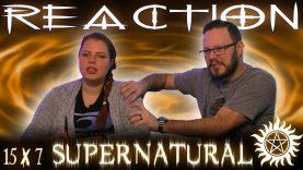 Supernatural 15×7 Reaction