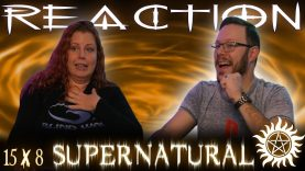 Supernatural 15×8 Reaction