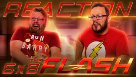 The Flash 6×8 Reaction
