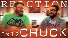 Chuck 3×12 Reaction EARLY ACCESS