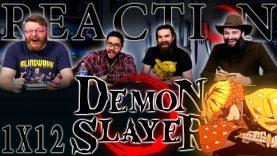 Demon Slayer 1×12 Reaction