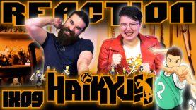Haikyuu 1×9 Reaction EARLY ACCESS
