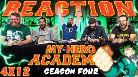 My Hero Academia 4×12 Reaction