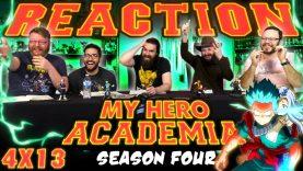 My Hero Acadmeia 4×13 Reaction