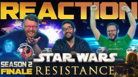 Star Wars Resistance Series Finale Reaction