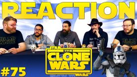 Star Wars: The Clone Wars 75 Reaction