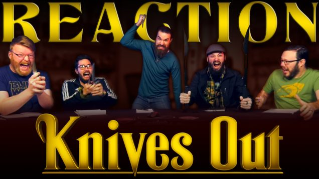 Knives-Out-Reaction