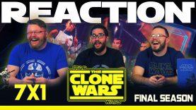 Star Wars: The Clone Wars 7×1 Reaction
