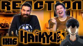 Haikyuu 1×16 Reaction EARLY ACCESS